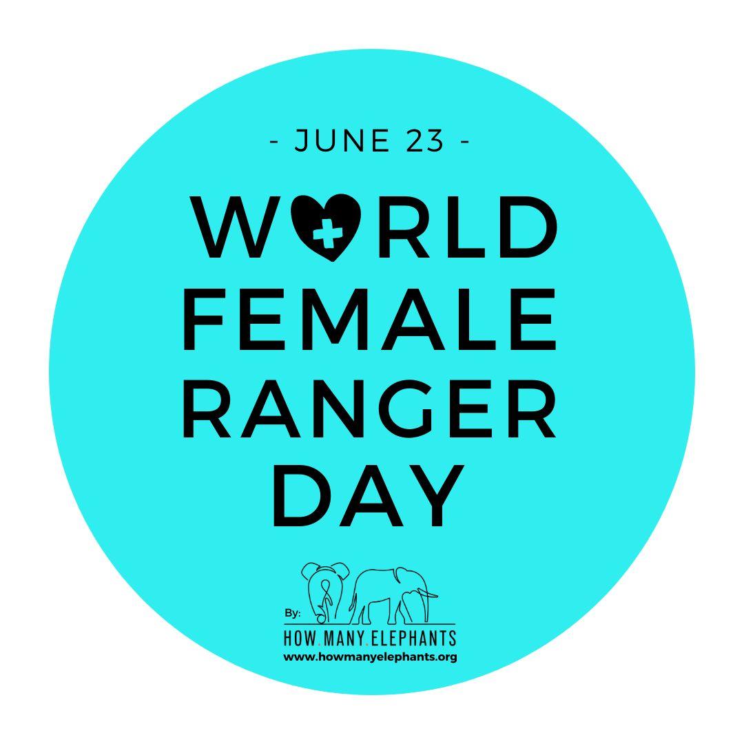 World Female Ranger Day Logo - Blue - Fundraiser