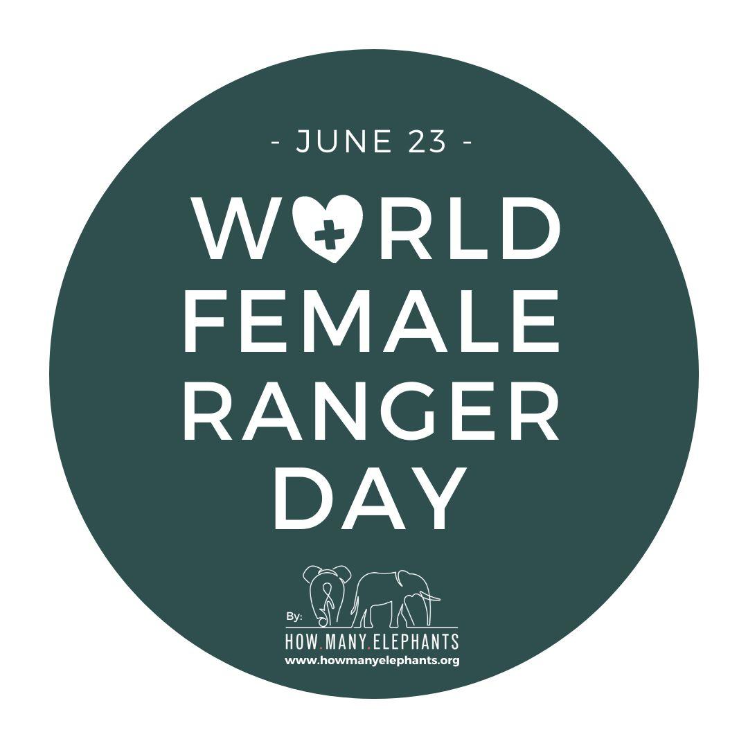 World Female Ranger Day Logo - Green - Fundraiser