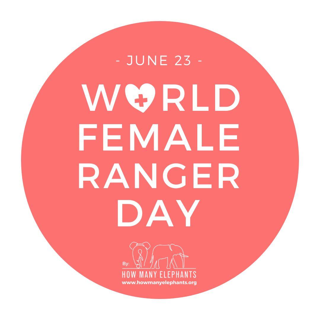 World Female Ranger Day Logo - Pink - Fundraiser